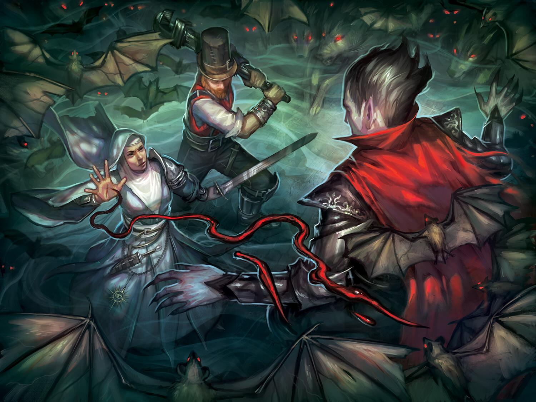 Vampire Fight