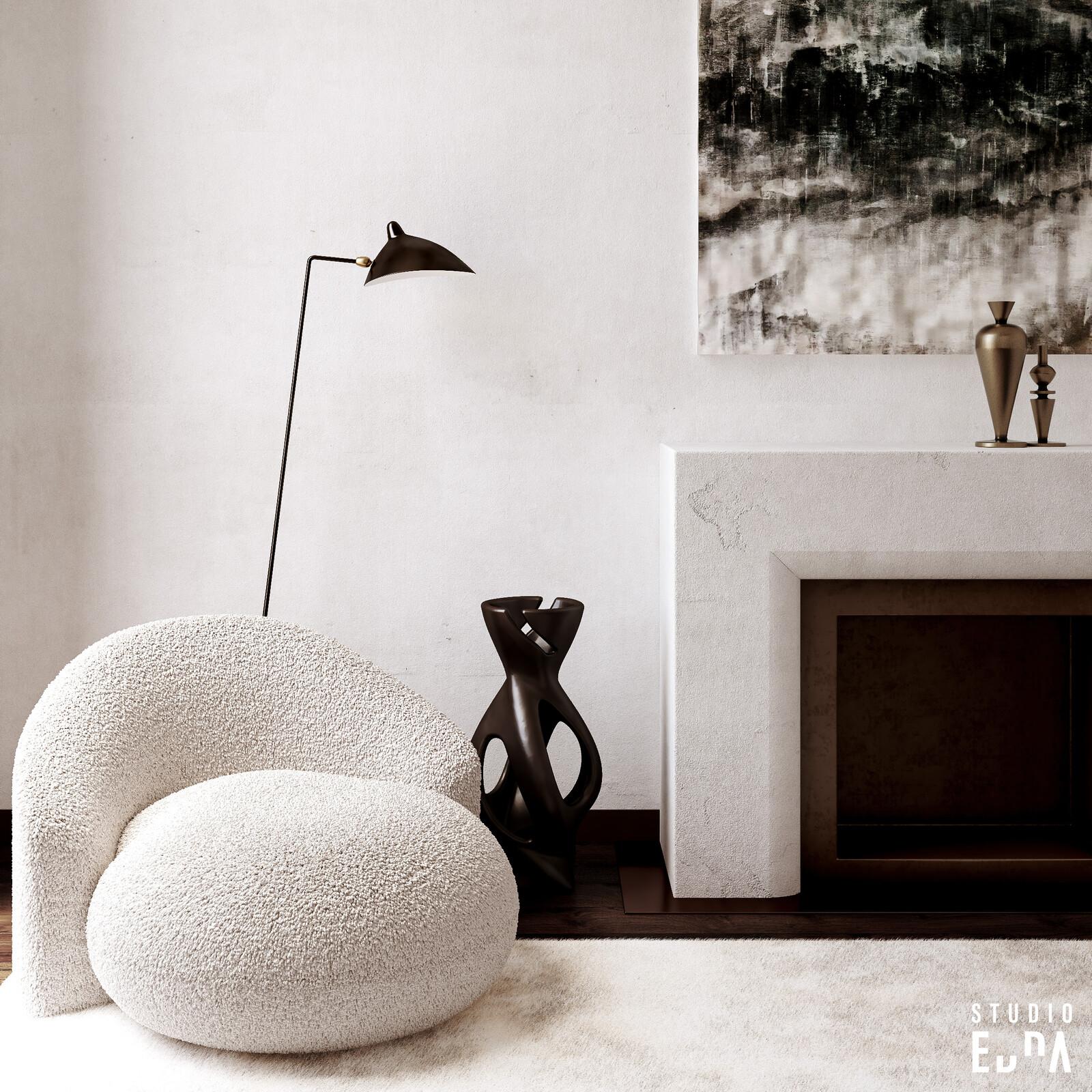 CG Interior - Fireplace