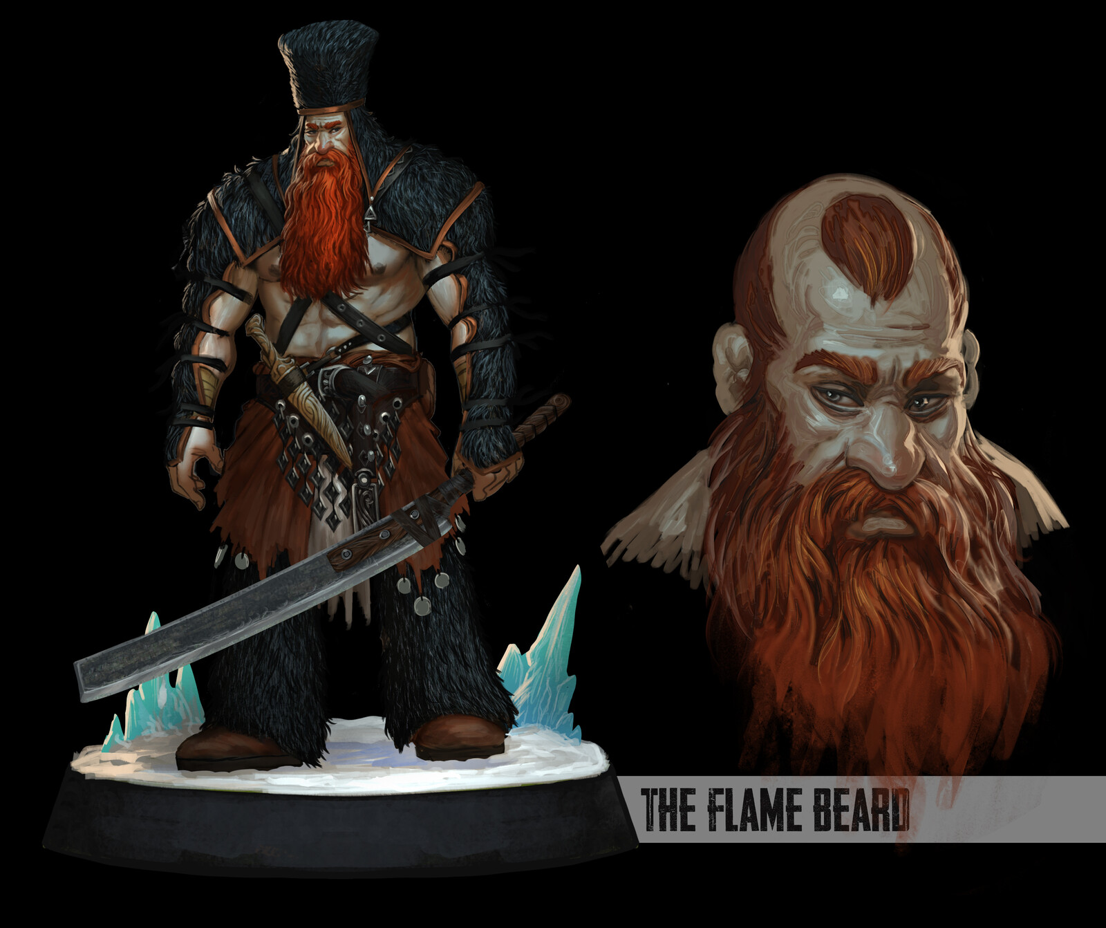 The Flame Beard