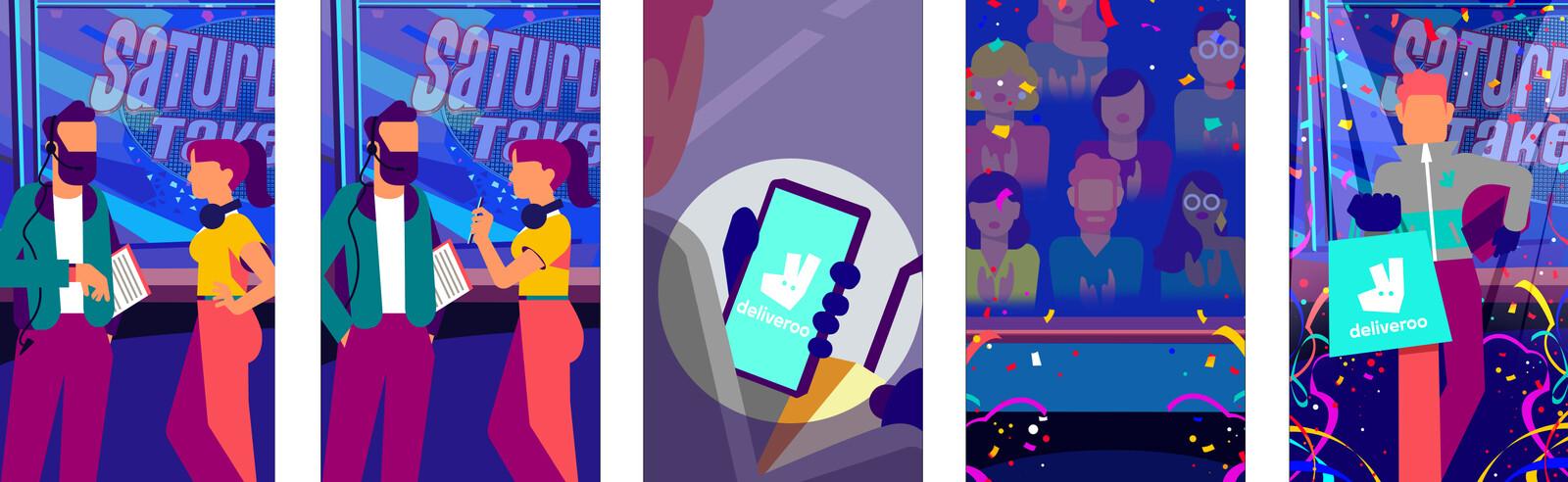 Réalisation de scène d'introduction au jeu mobile et desktop