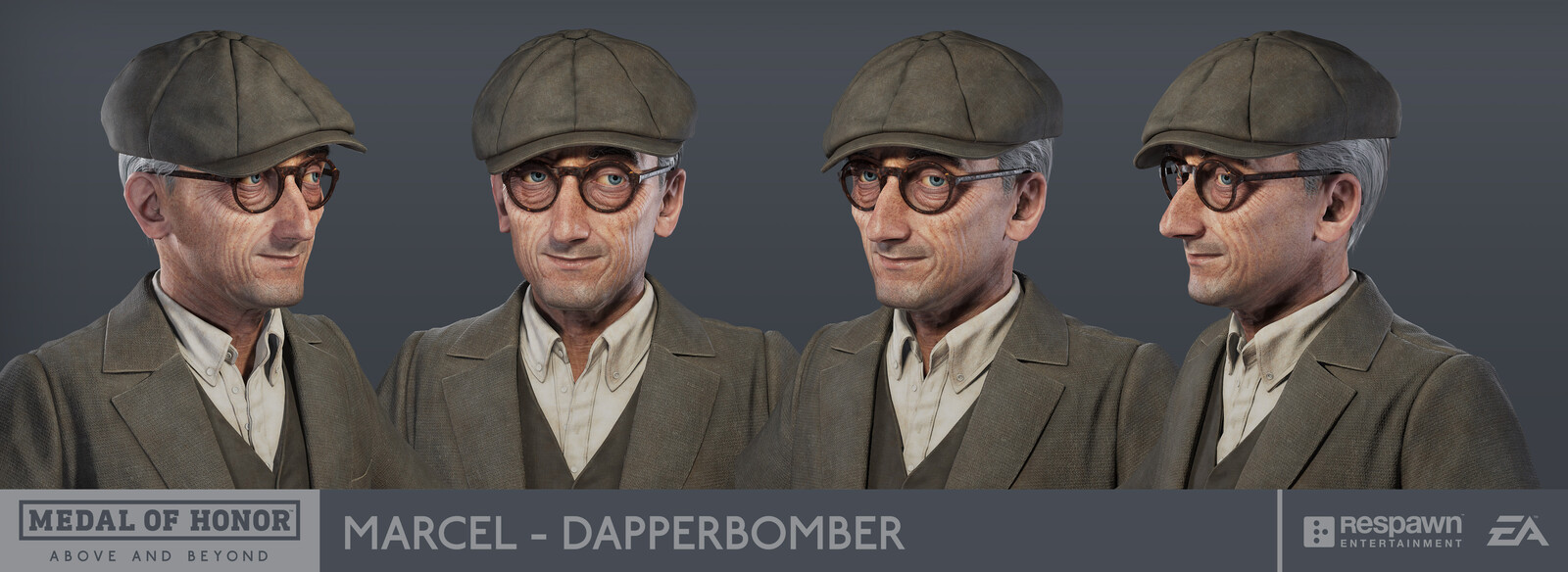 Medal of Honor : Above and Beyond - Marcel the Dapperbomber