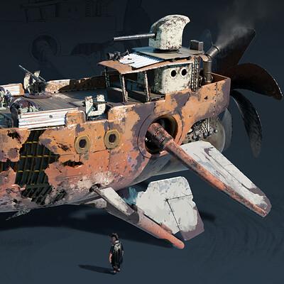 Aniruddha khanwelkar pirate ship final concept