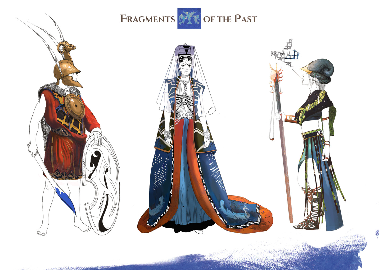Characters from Fragments of the Past - RPG