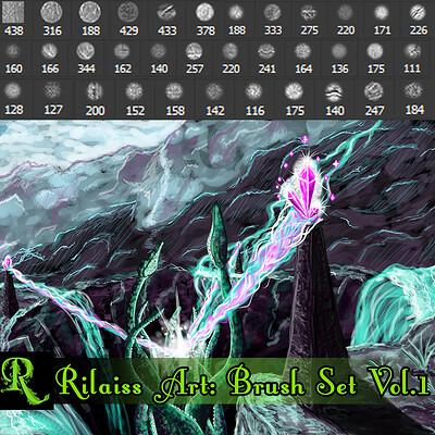 Rilaiss Art - Photoshop Brush Set Vol.1
