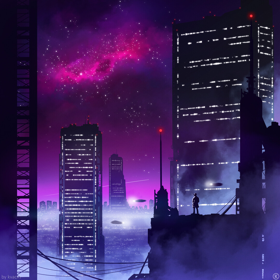 Commission THE NIGHT Album Cover