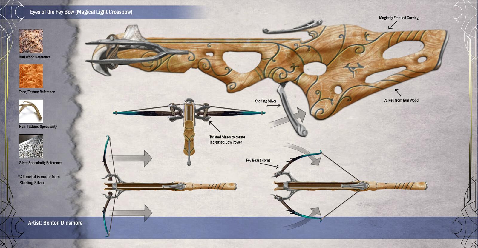 Fantasy Crossbow