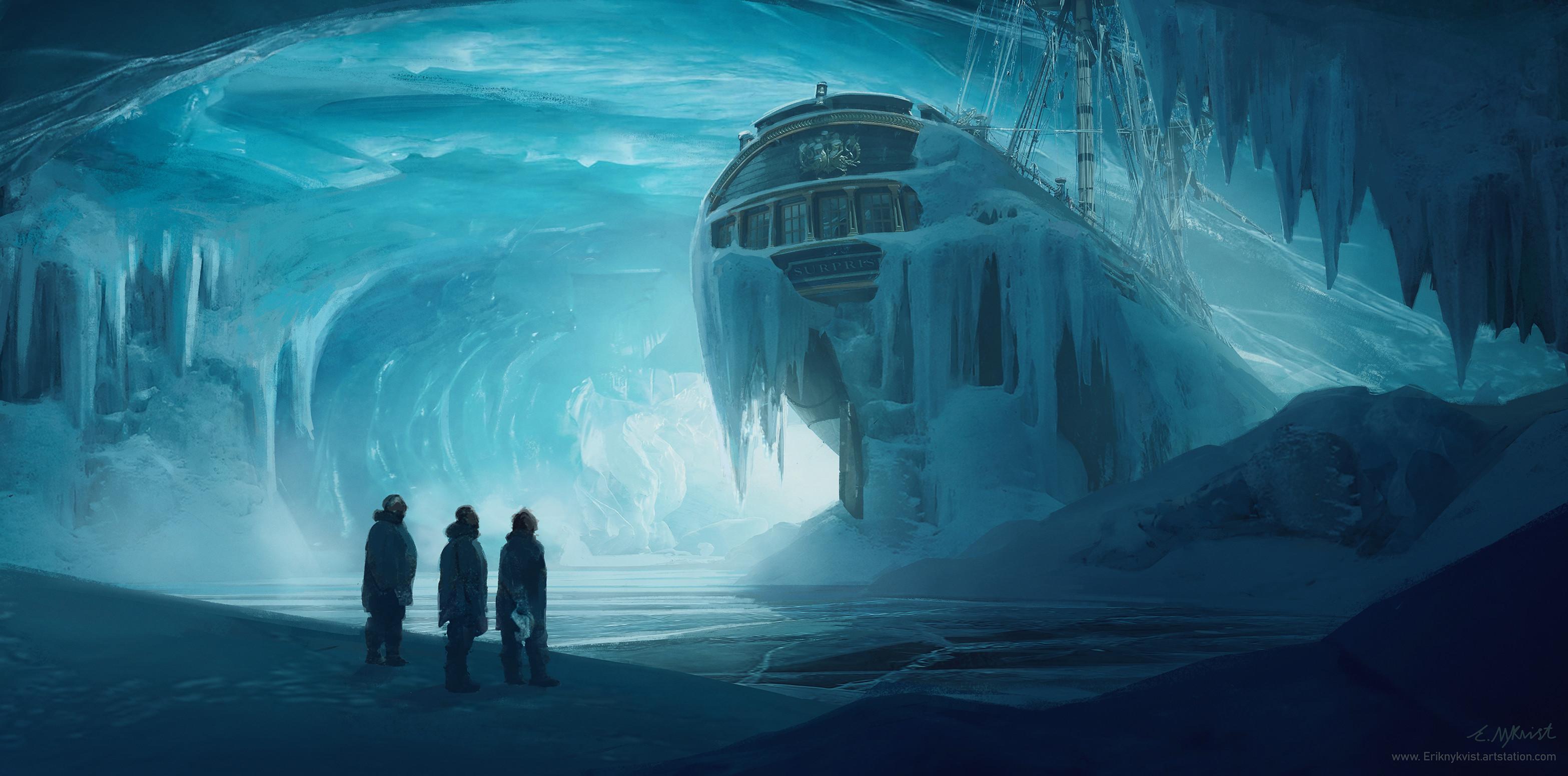 Frozen surprise