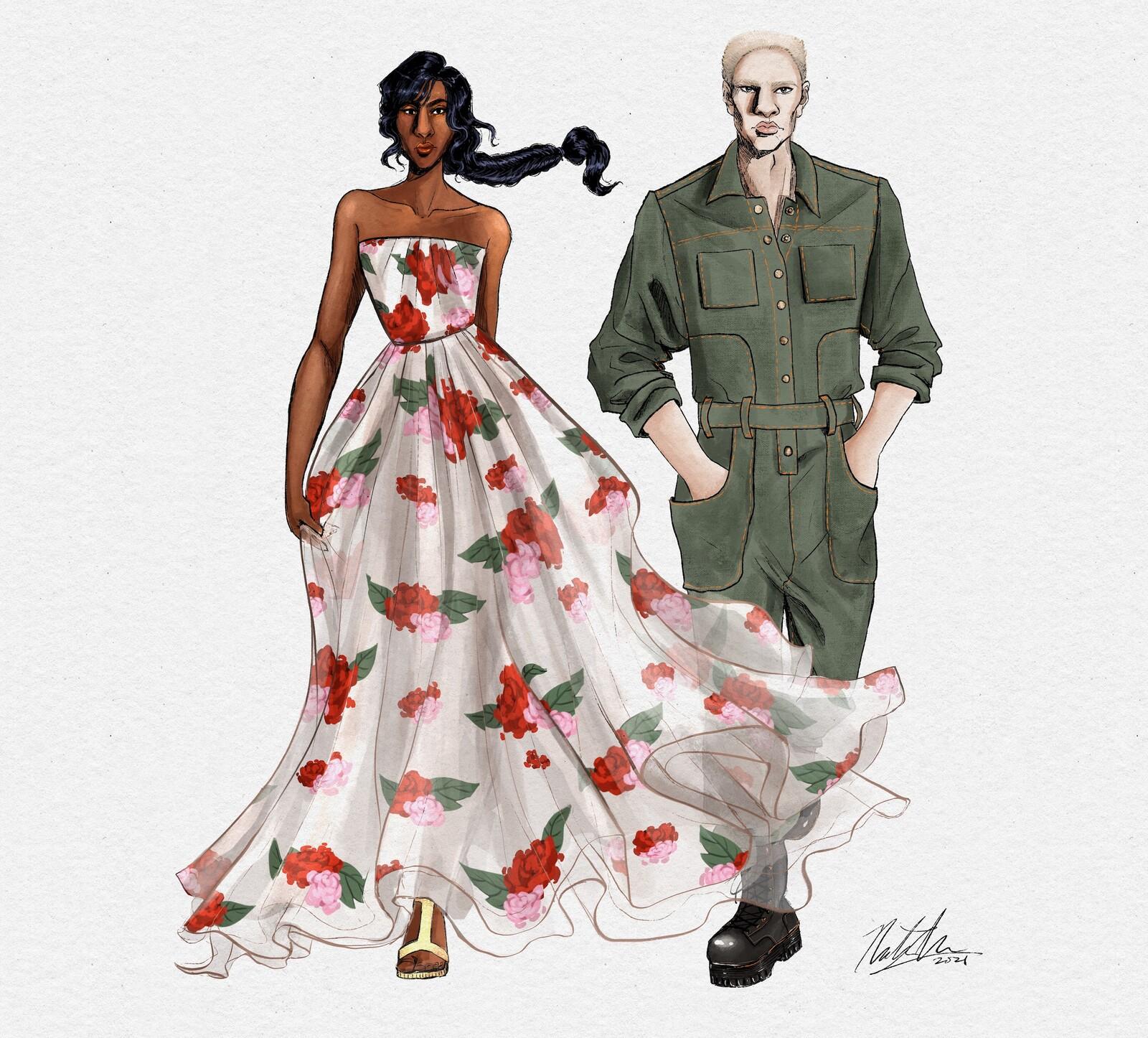 Fashion Illustration Challenge