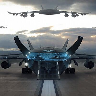 Encho enchev cargo plane concept1