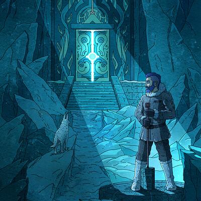 Fantasy Illustration, Hidden Gates