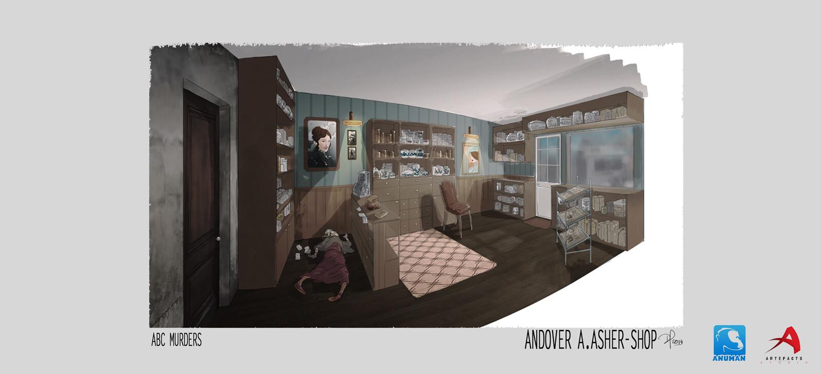 ABC murder (Artefact studio)