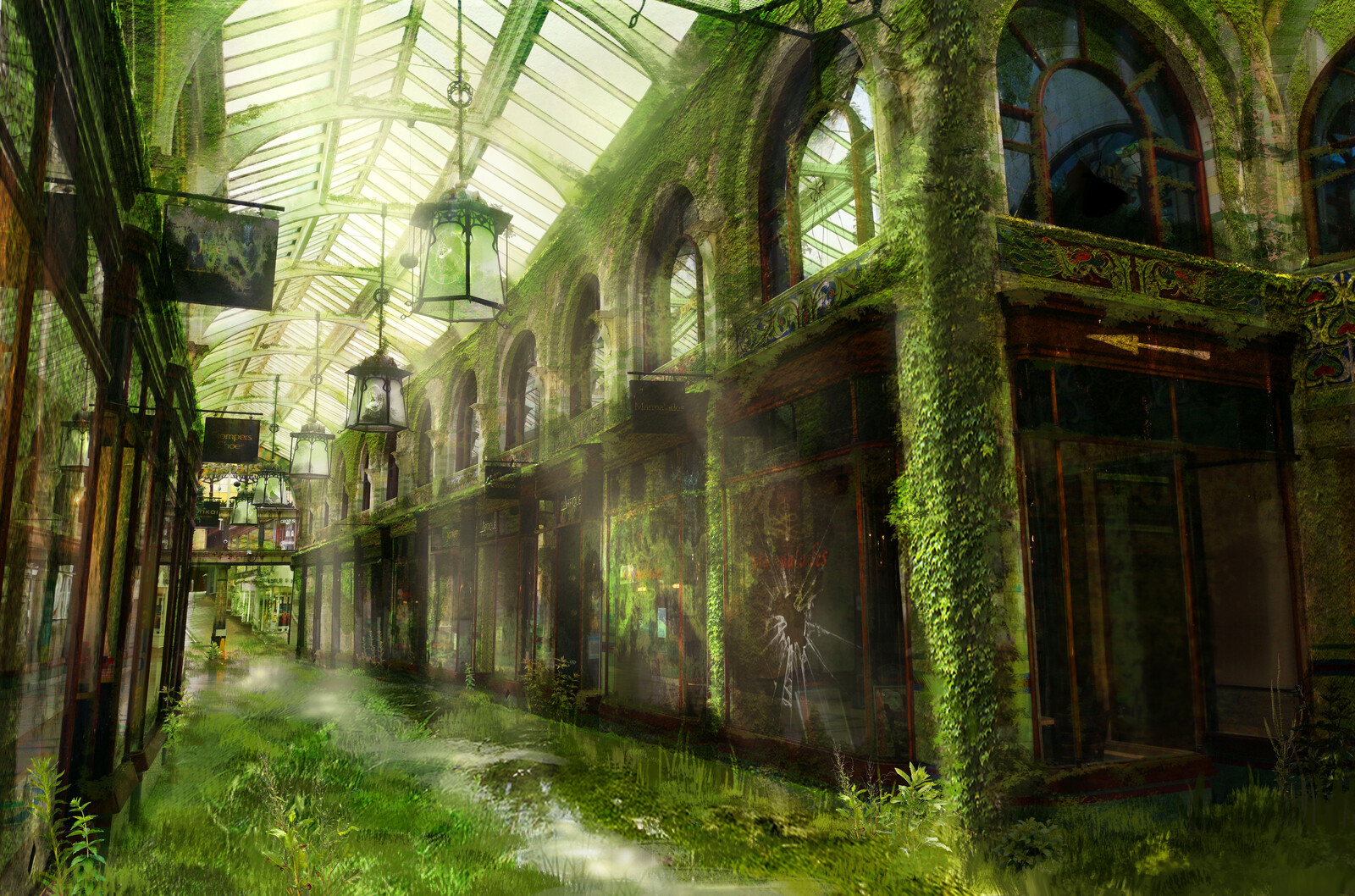 The Royal Arcade - The Last of Us: Norwich