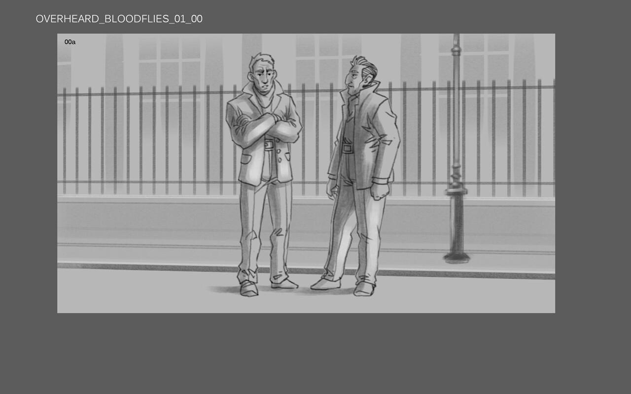 Dishonored II (Storyboard artist)