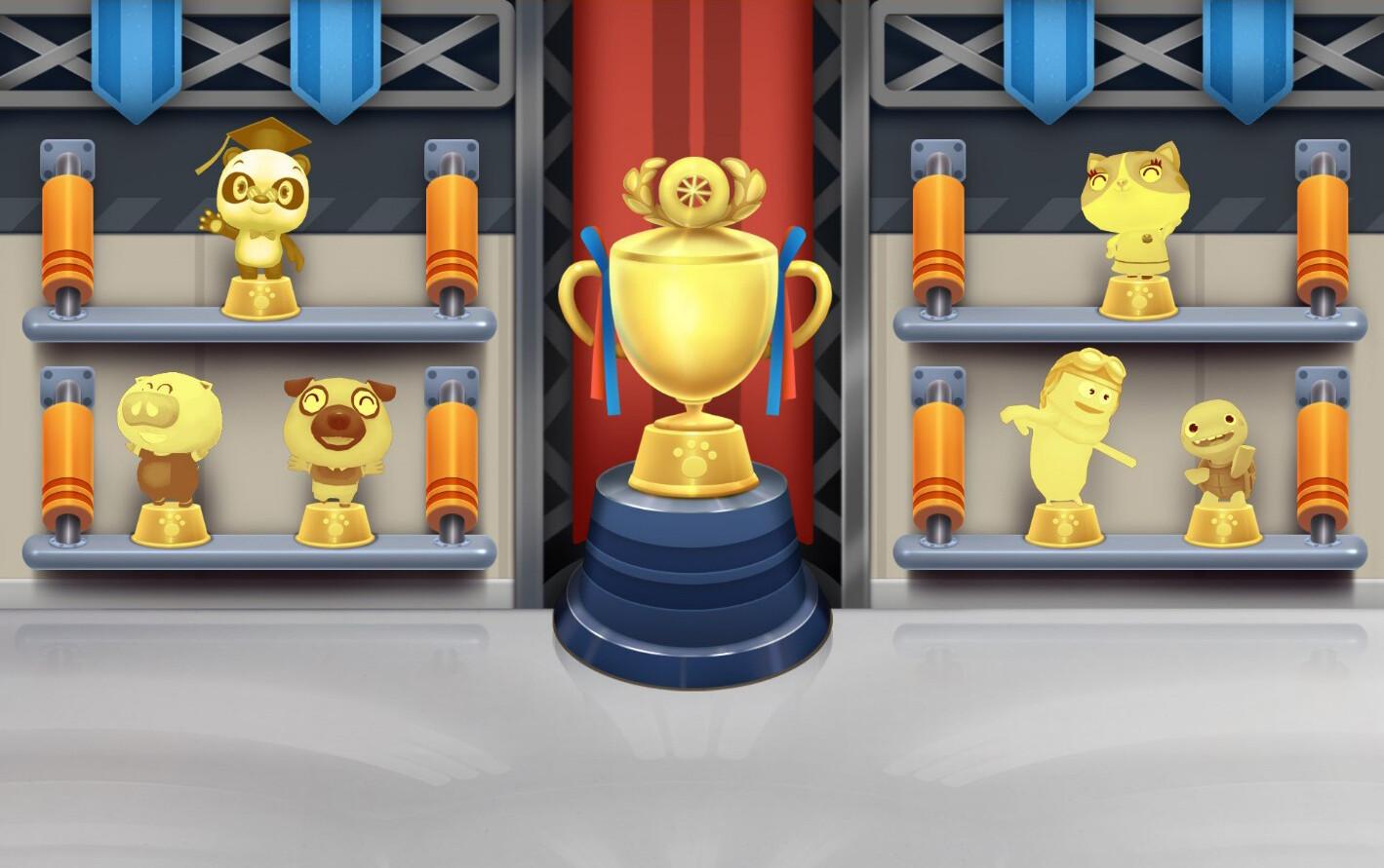 Trophy Room Design
