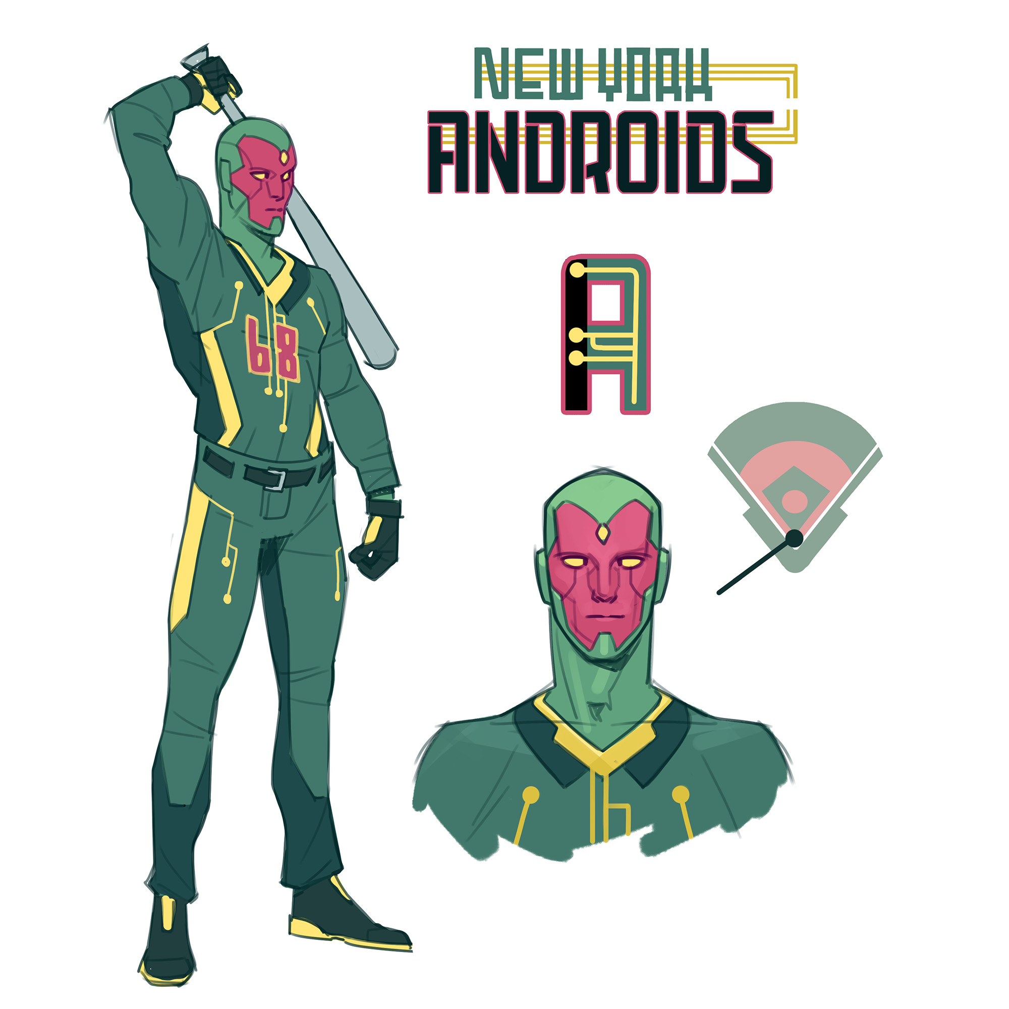 The New York Androids!
