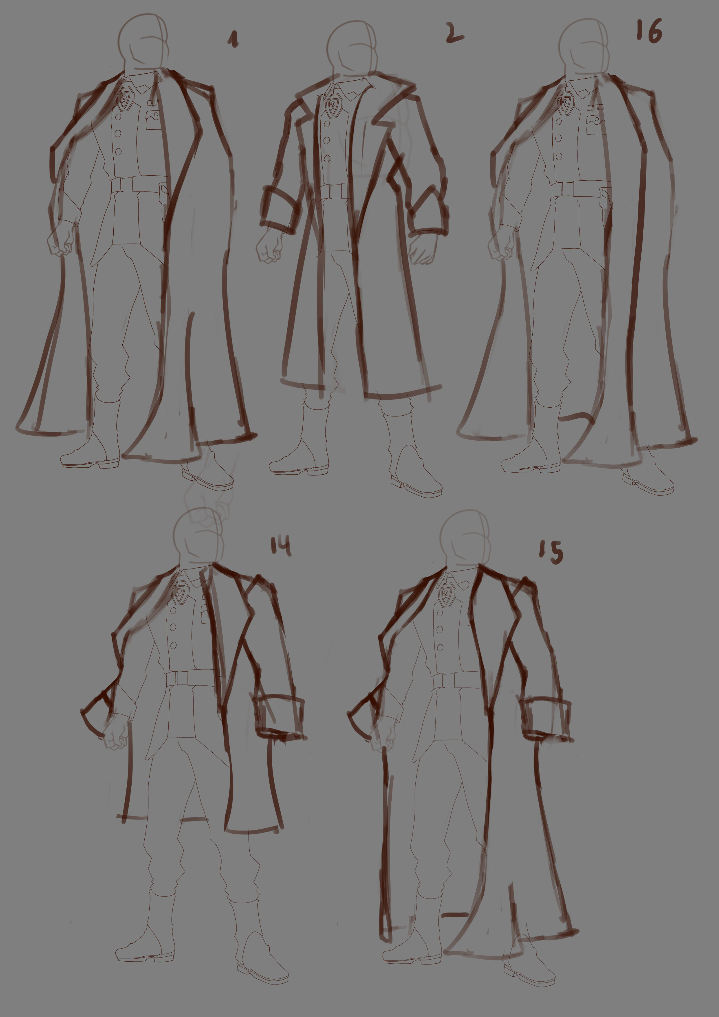 Cape variations