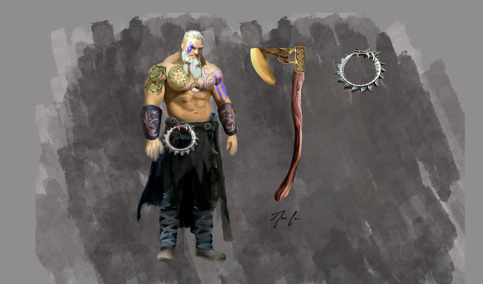 Ingolf - Norse Barbarian