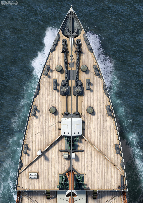 Montage Titanic Trumpeter 1/200 - Page 10 Vasilije-ristovic-titanic-top-view-forecastle-web