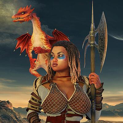 Roger patterson jr dragon warrior 2021