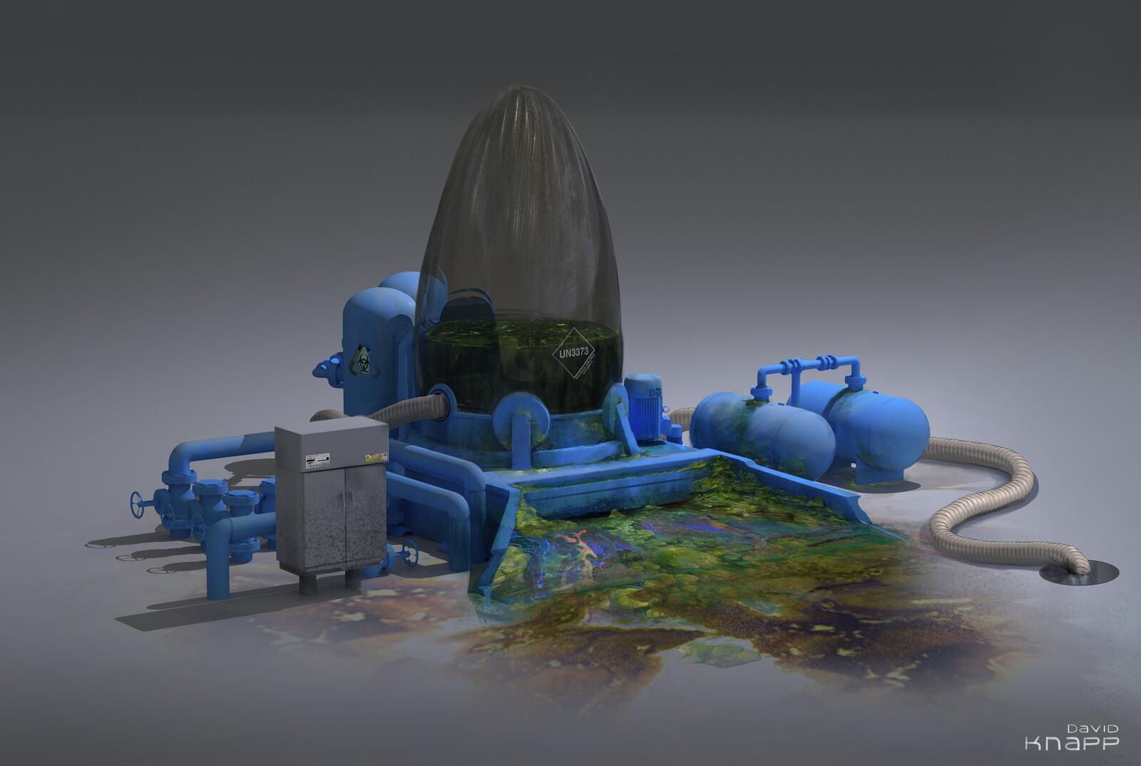 Algae Processor