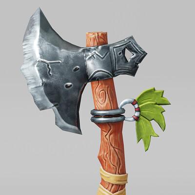 Laru3d axe