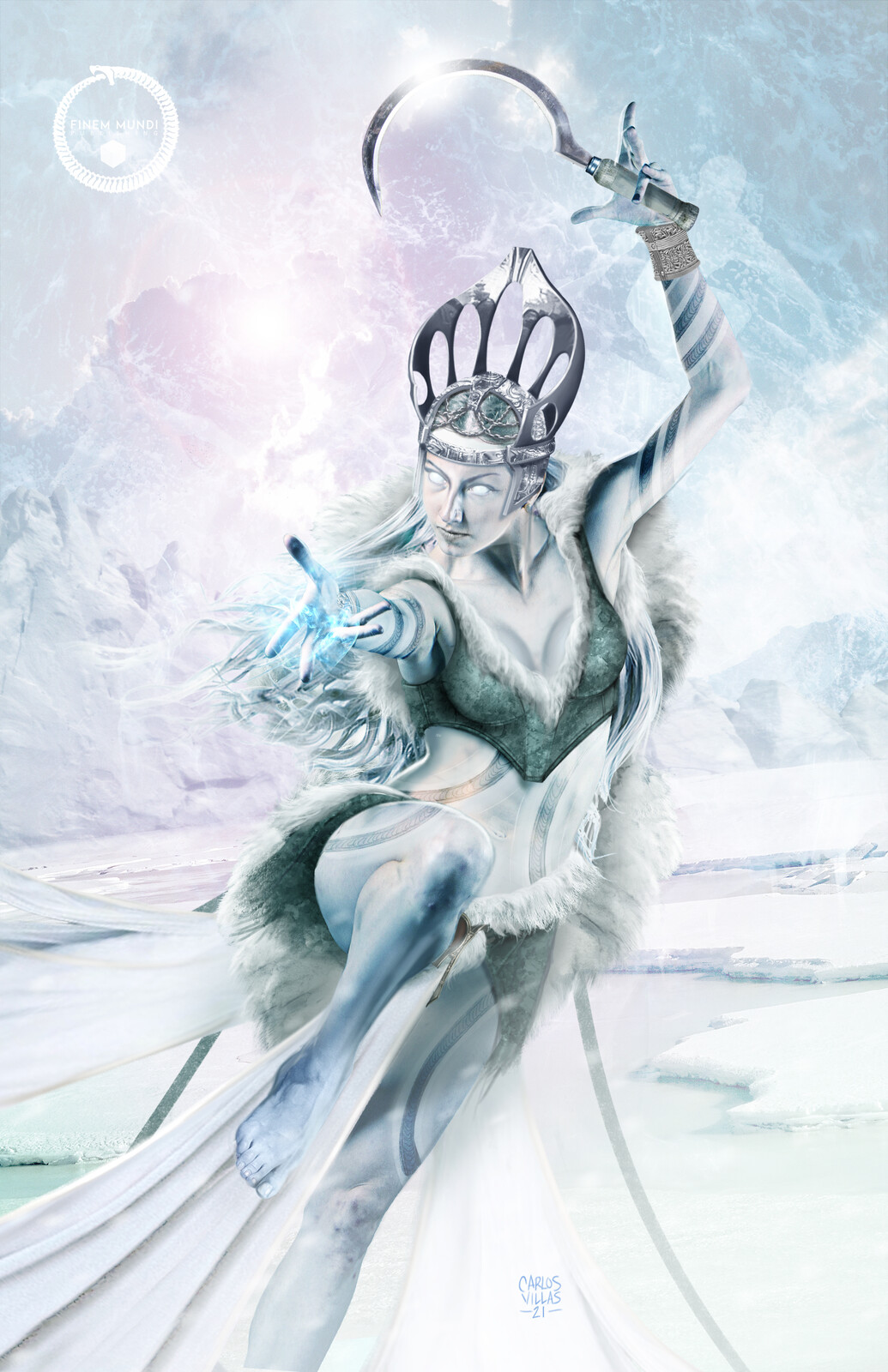 ICE QUEEN MORENA