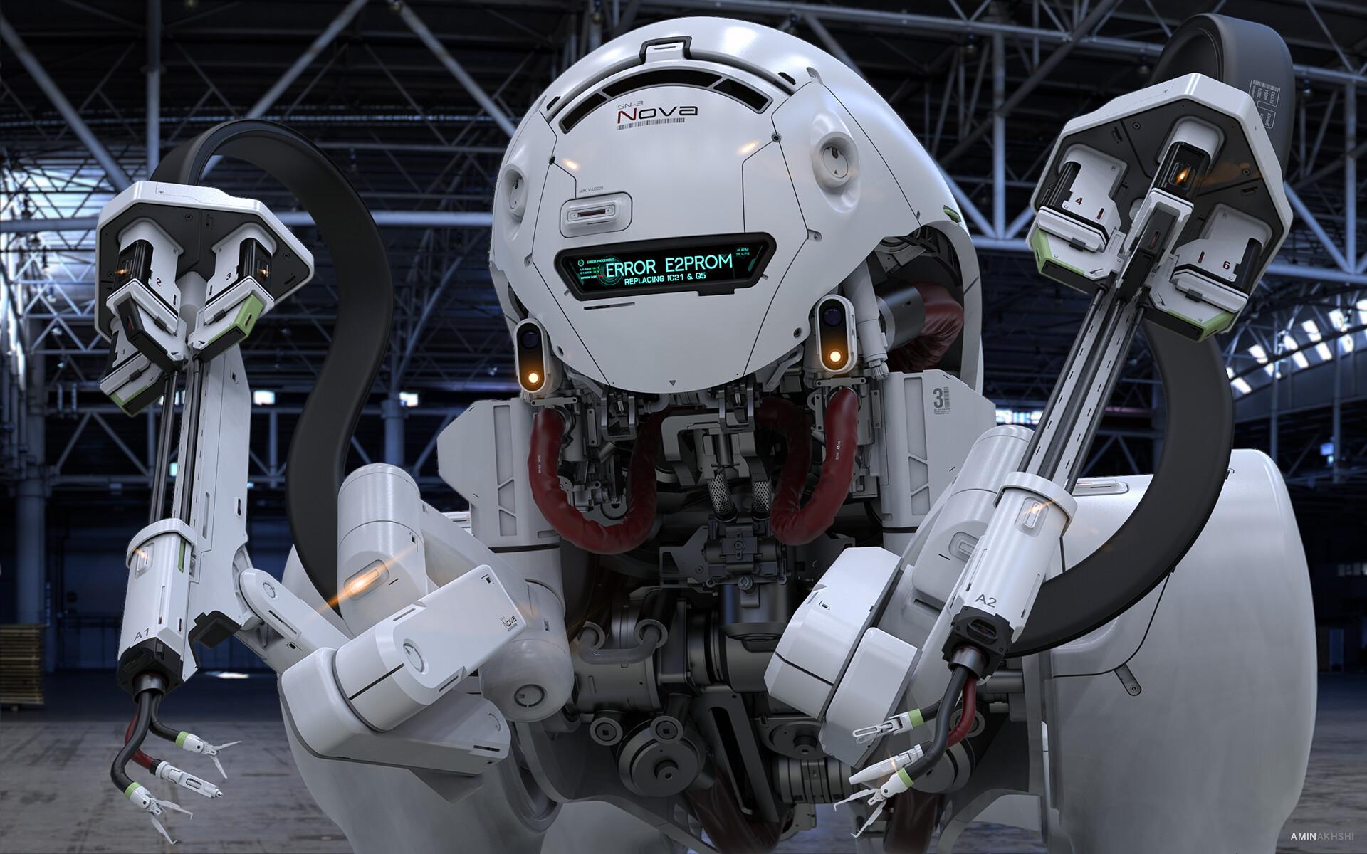 Фронтальная часть робота