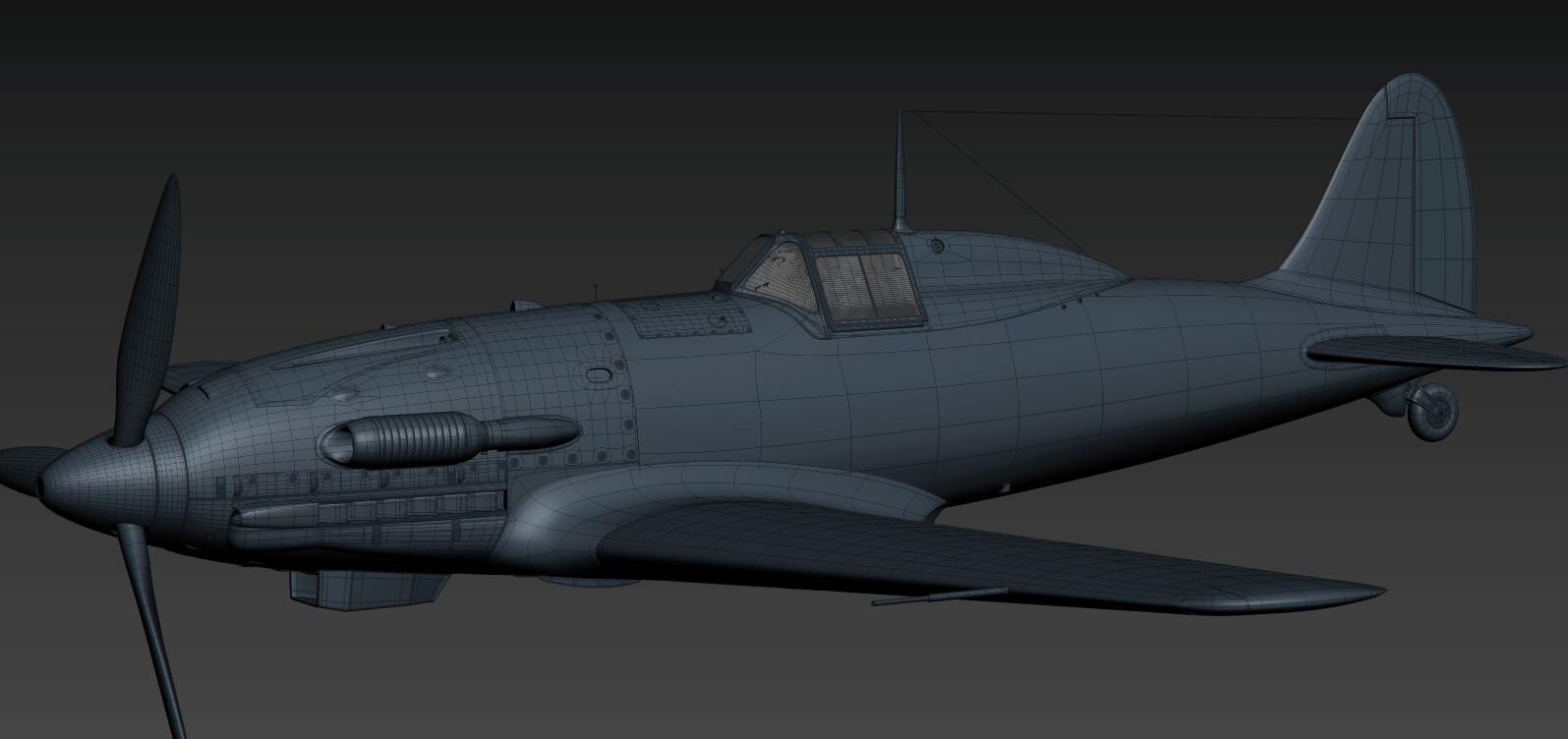 Macchi 202 3d model
