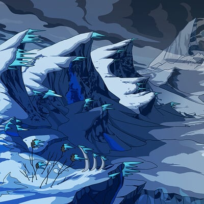 Yen shu liao background environment concept tundra yenshuliao
