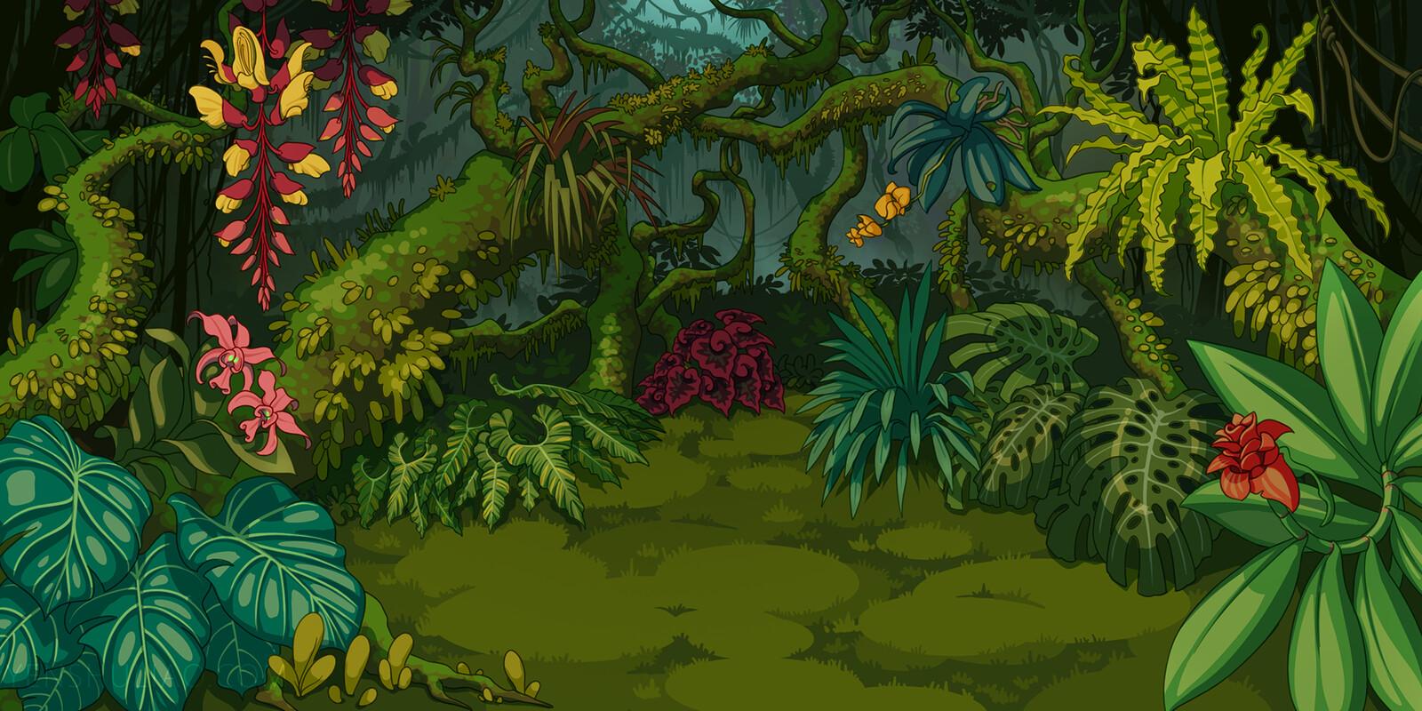 Hidden Lush Jungle
