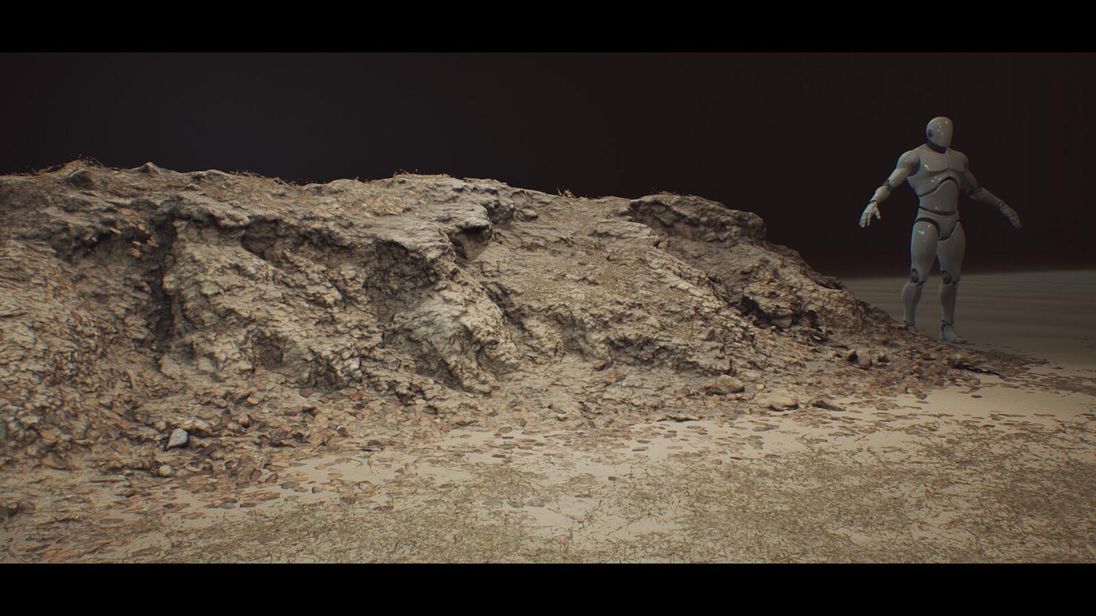 Desert Embankments - Photoscan Vol 4.