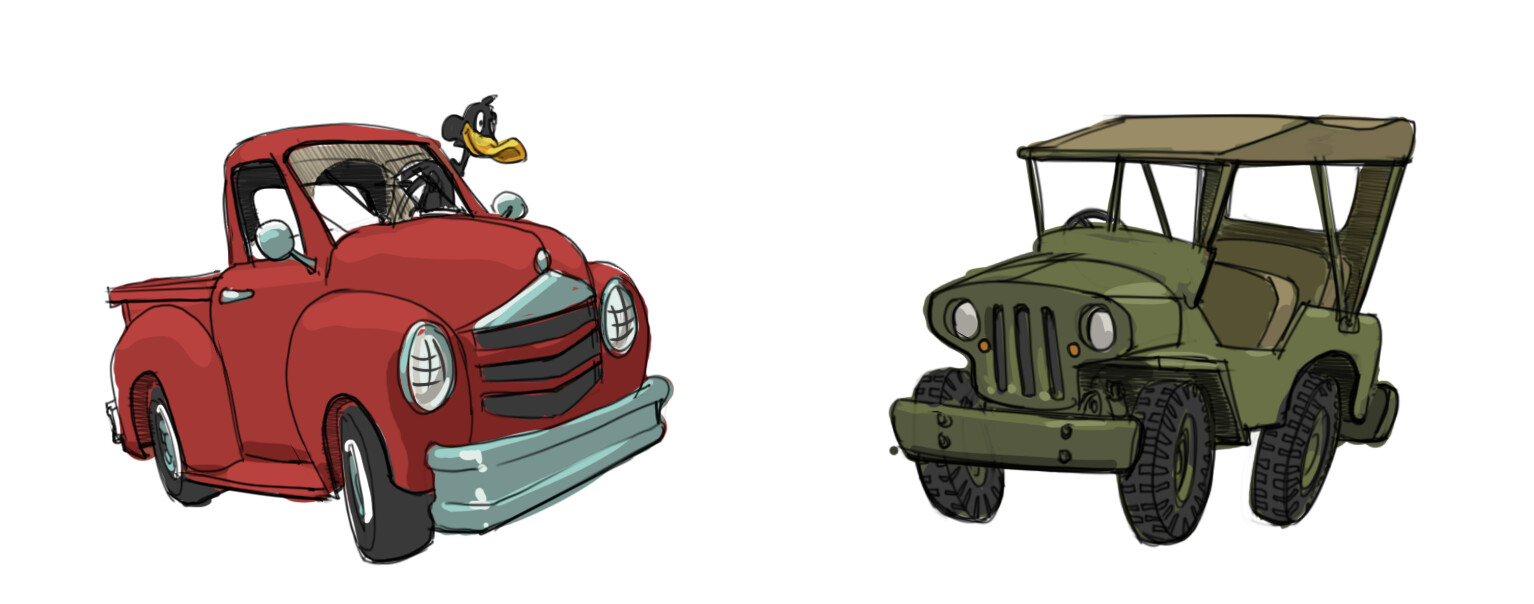 Looney Tunes Vehicles