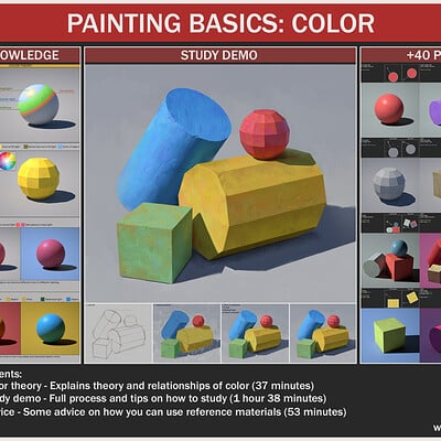 PAINTING BASICS: COLOR