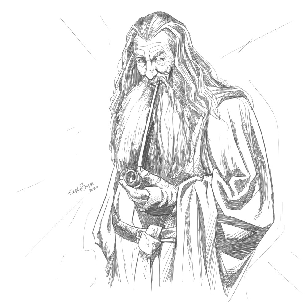 Movie Studies #2B - Gandalf the Gray - The Lord of the Rings