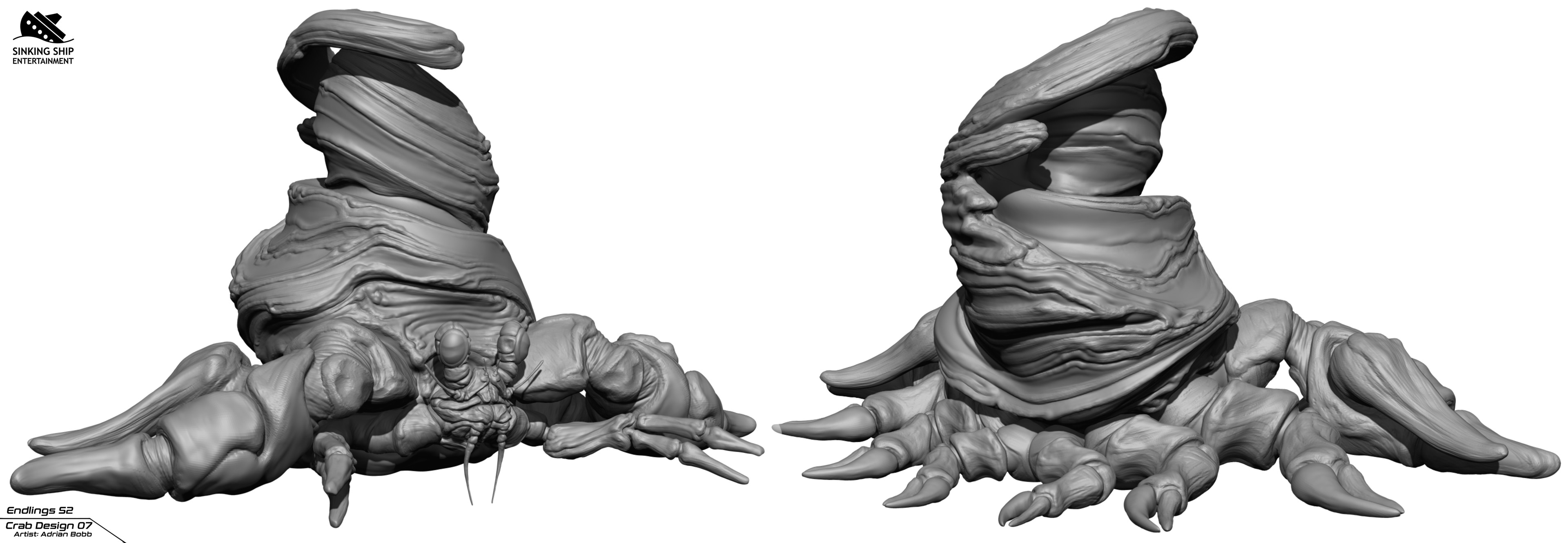Getting close to the final design.  I think this shell made it to the end.