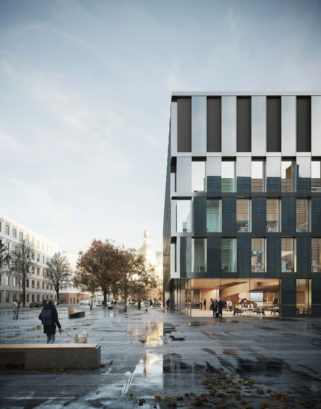 Data Processing Center at Mannheim, Germany designed by Burckhardt Partner. Image by PLAY-TIME