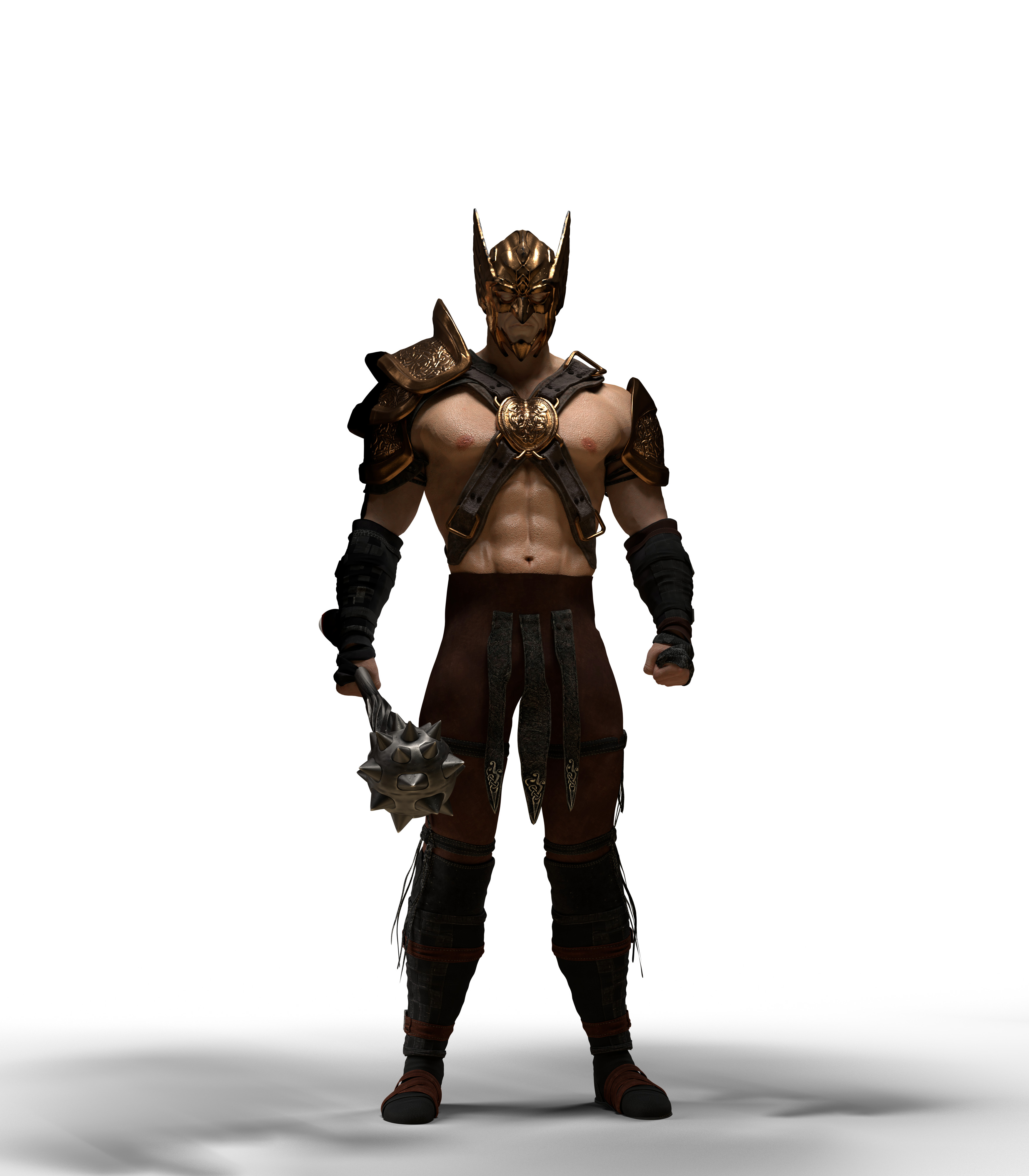 raw blender output, costume were DAZ elements and helmet base was a purchased model