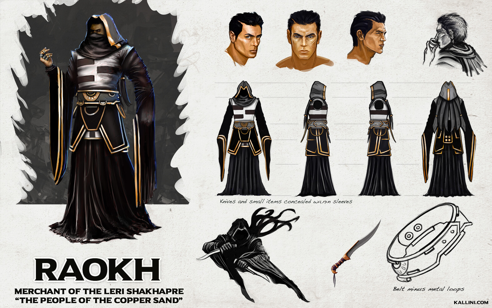 Raokh - Character Concept
