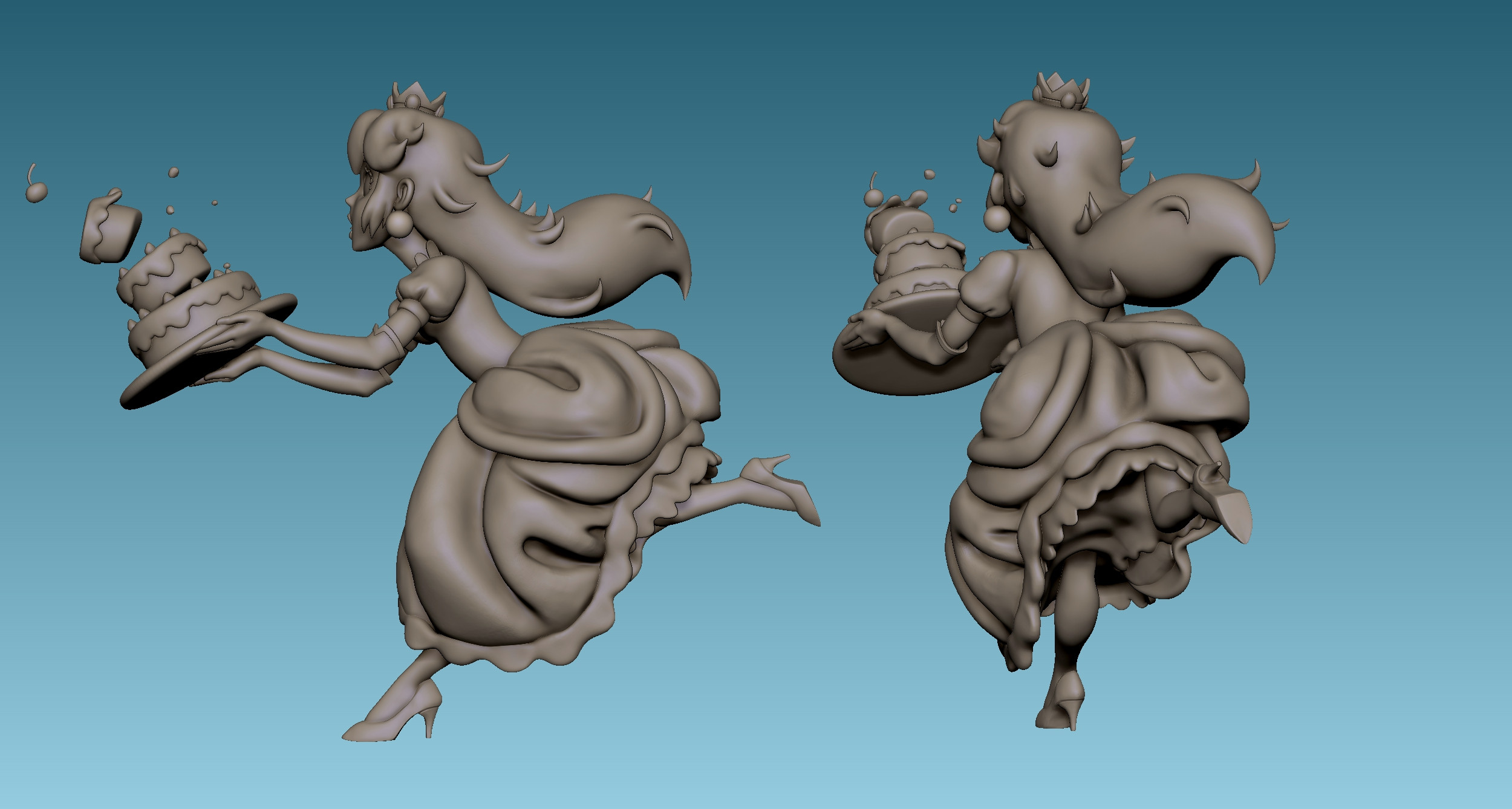 Renders from Zbrush