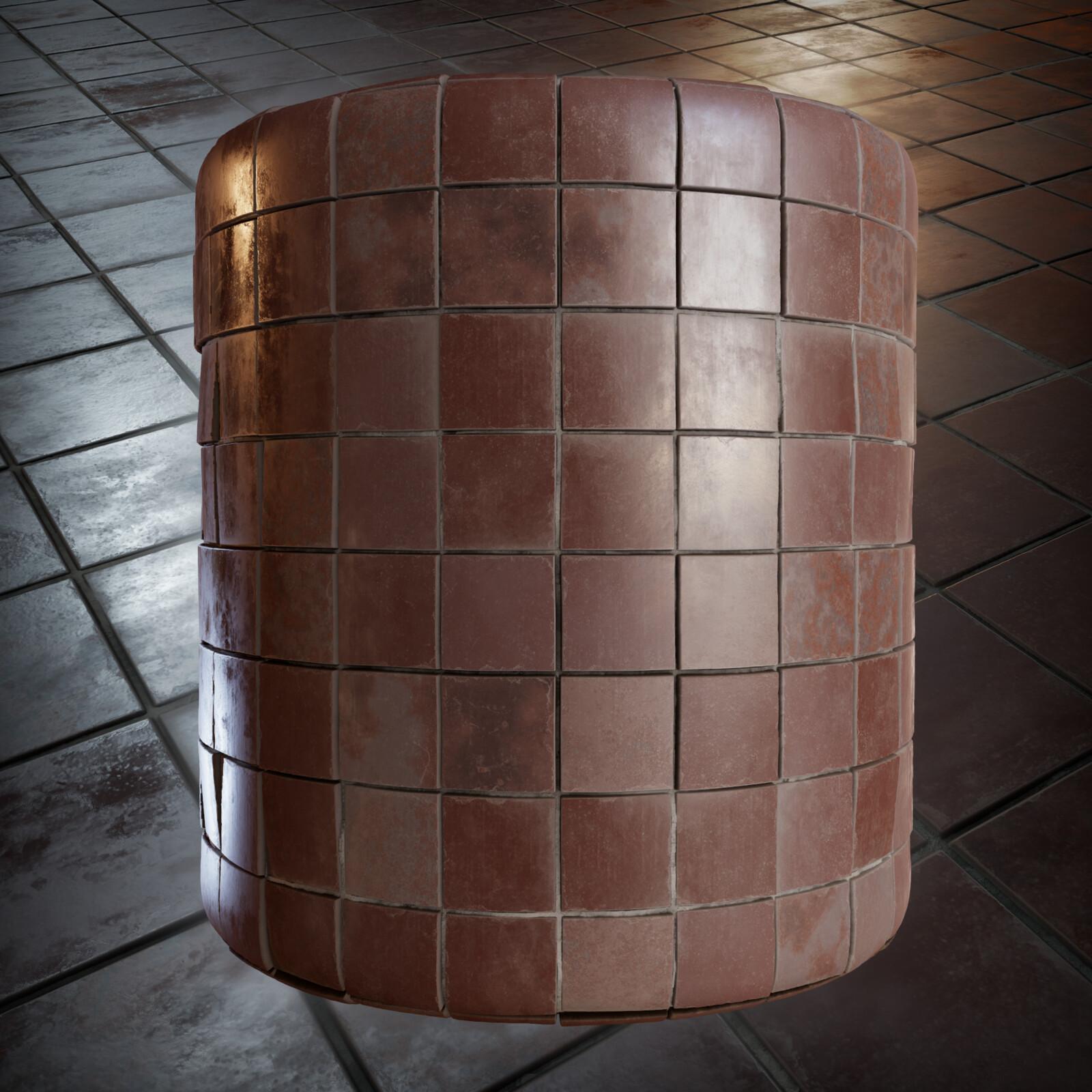 Floor Tile Material
