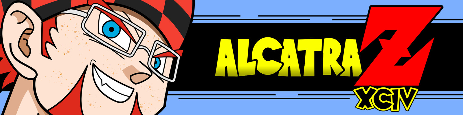 The Twitch banner for AlcatrazXCIV