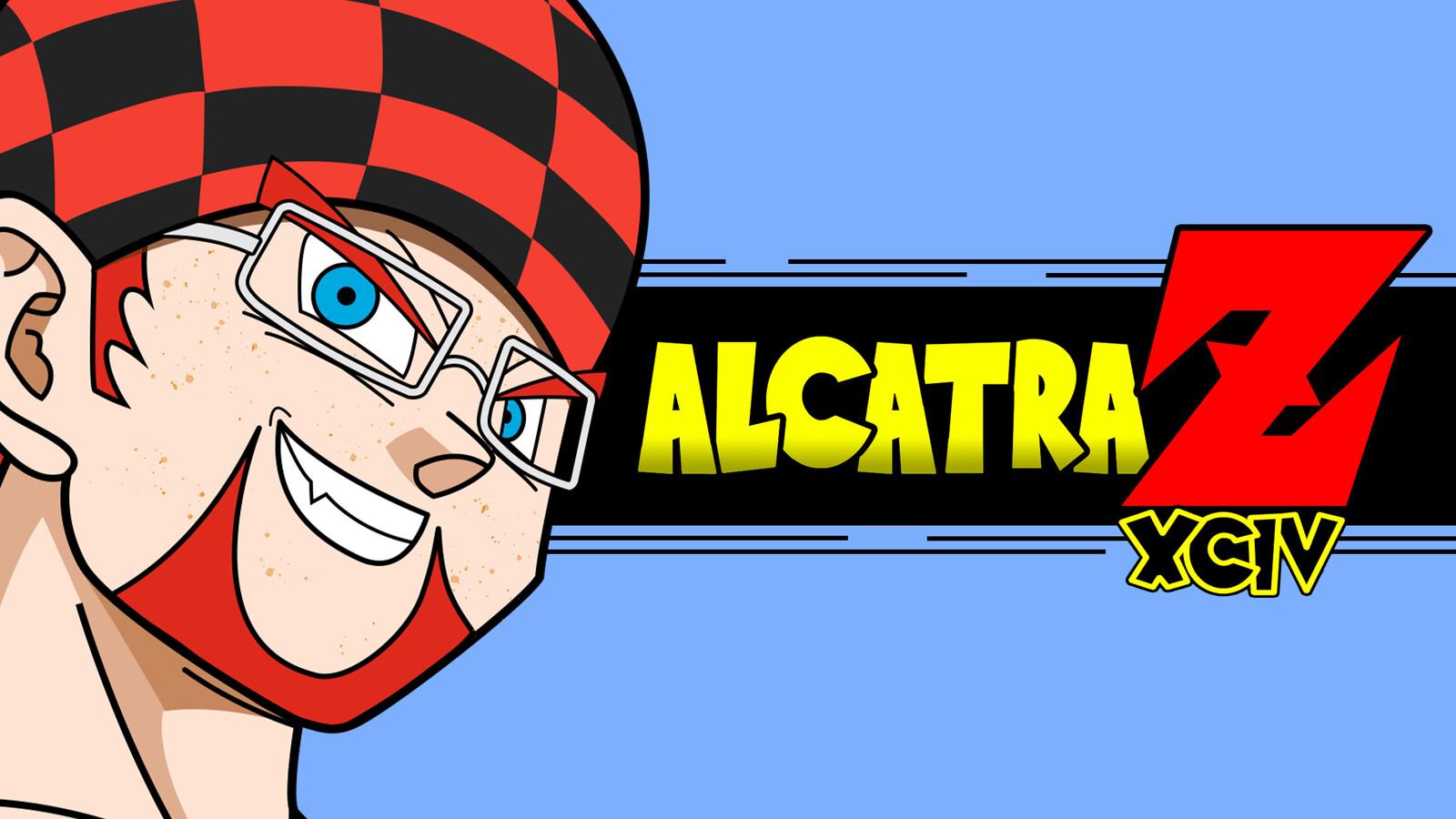The YouTube banner for AlcatrazXCIV