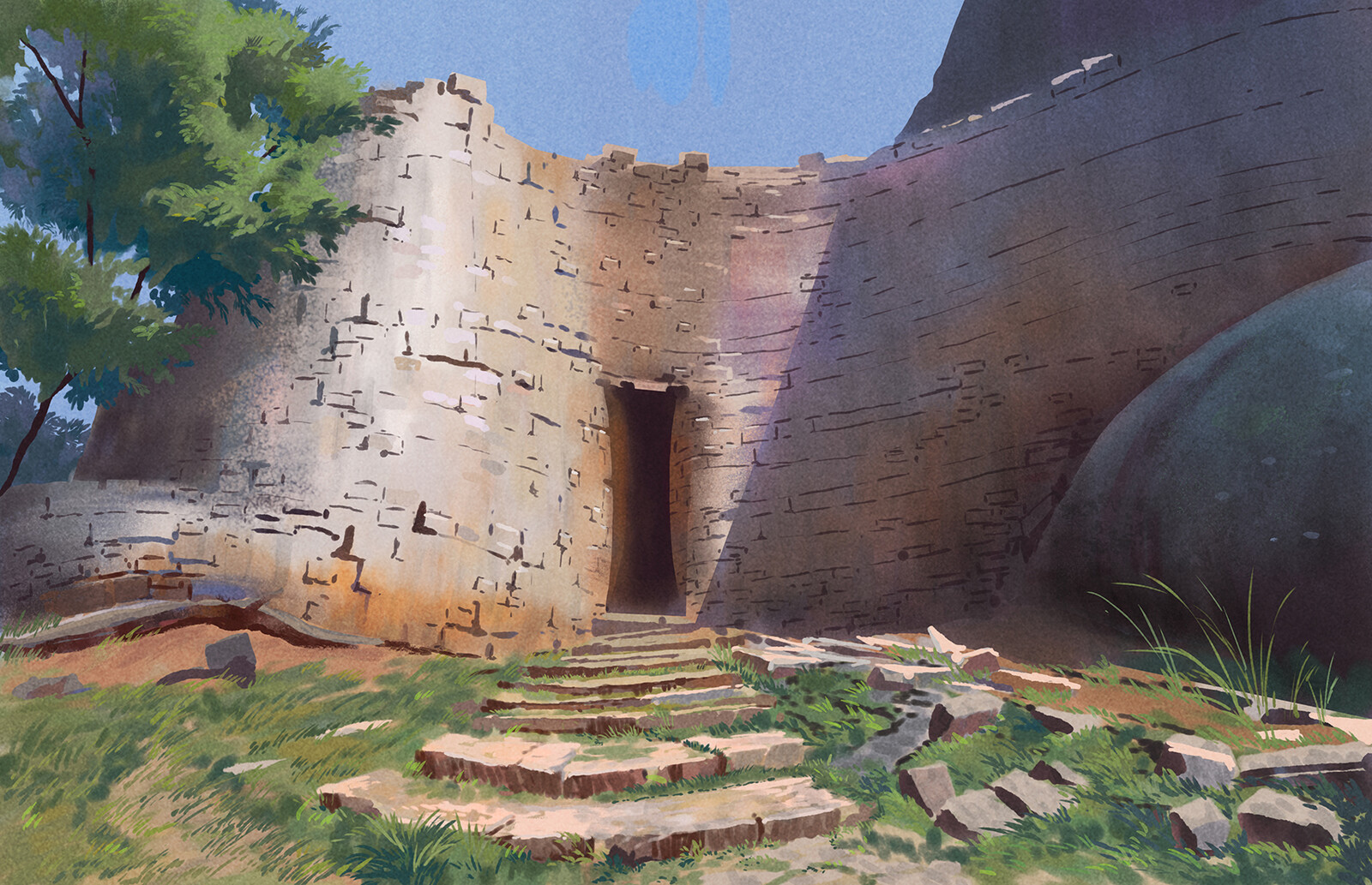 Zimbabwe Ruins Study