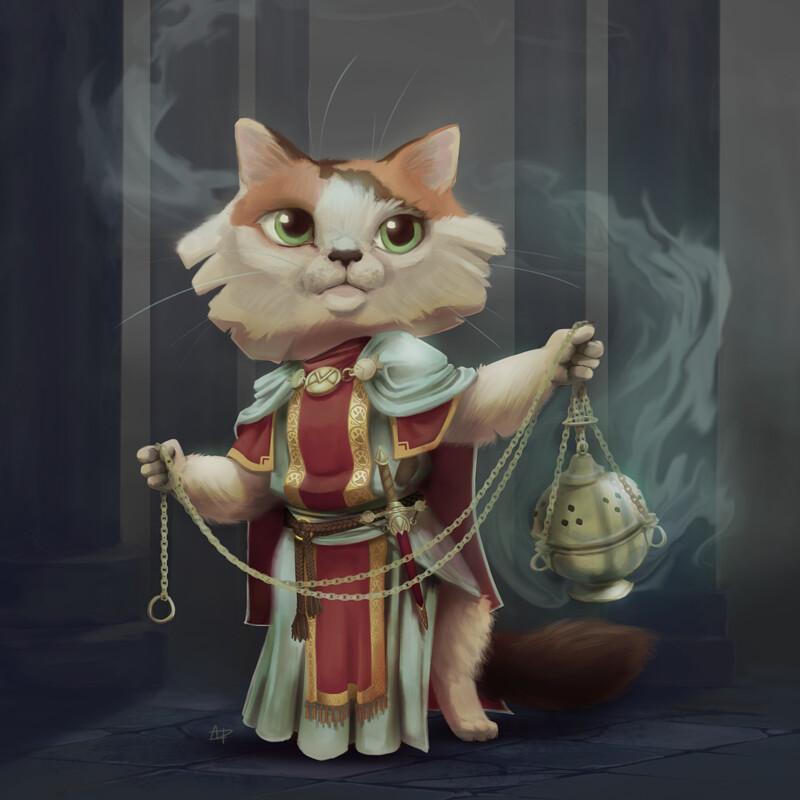 Kitten the Cleric