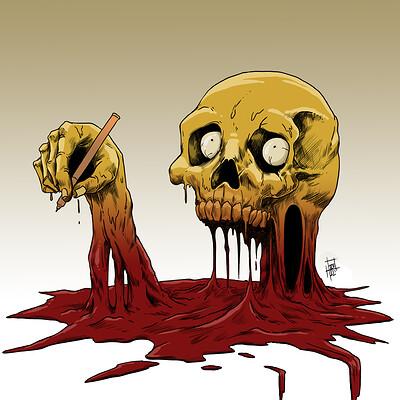 Horacio boriotti skull melt