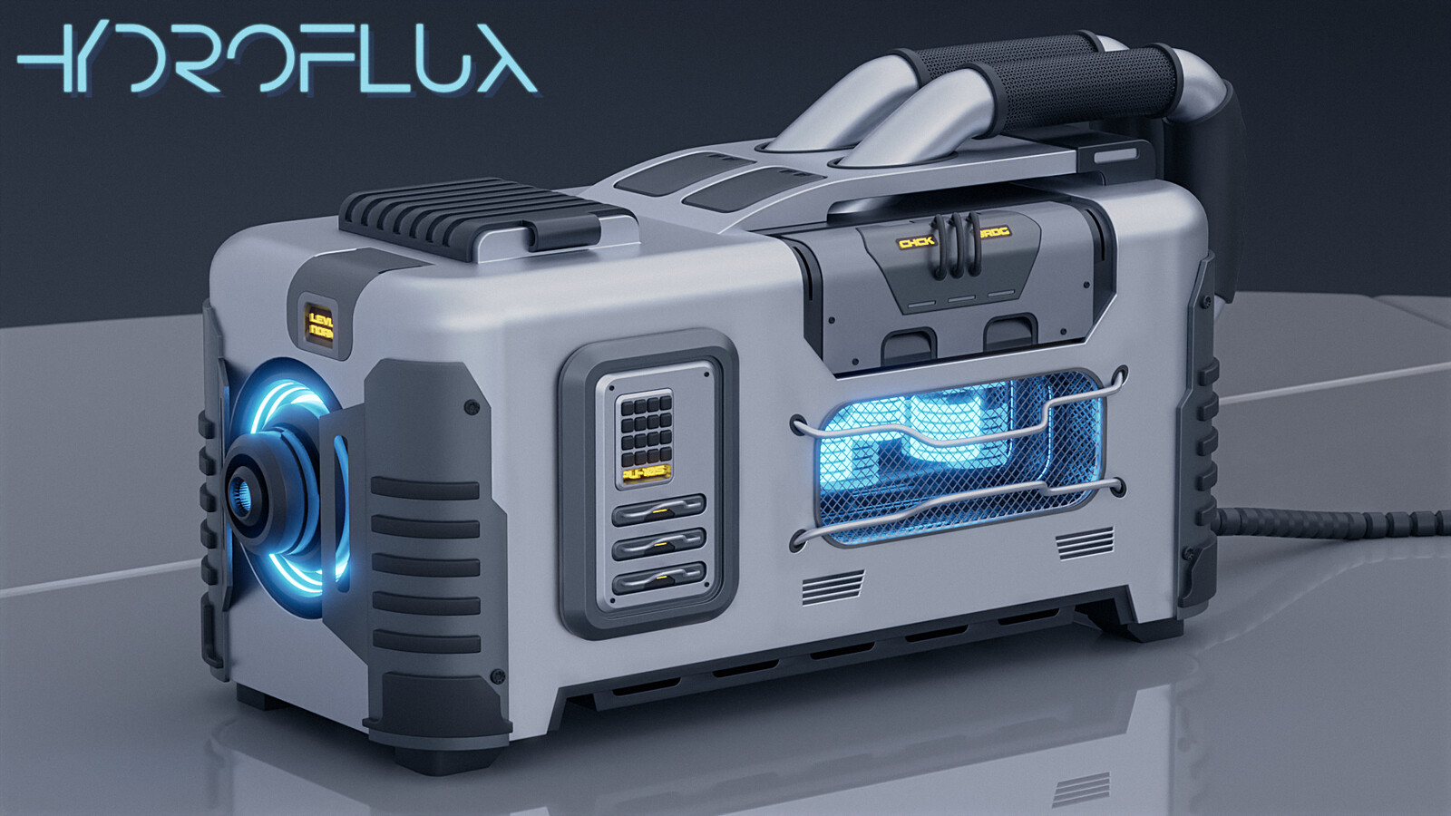 Hydroflux Capacitor for storing highly compressed waterbased fusion energy.