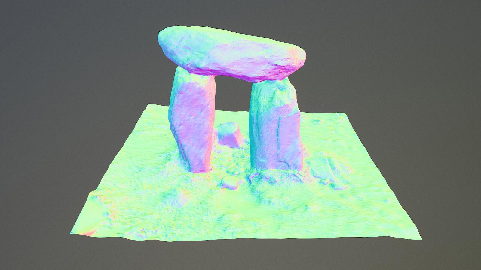 3D model - Normalmap