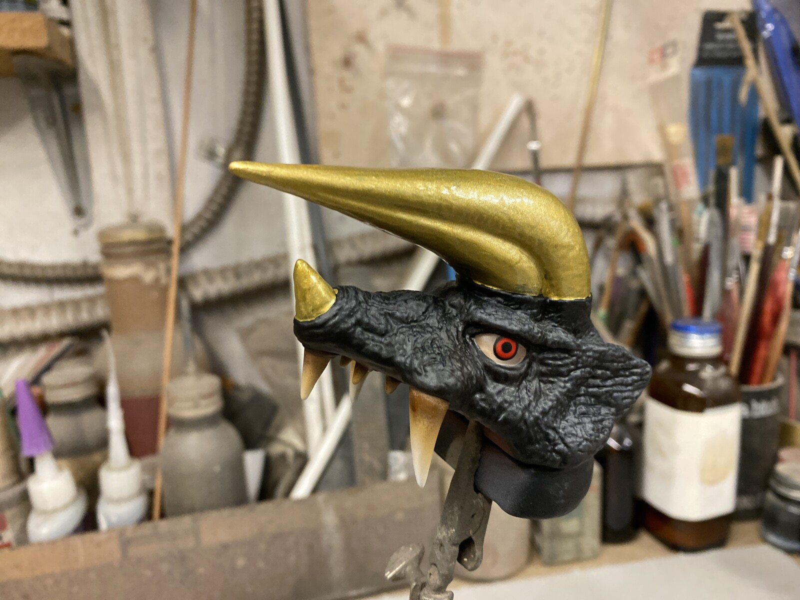 Ultra Kaiju Black King Art Statue  用心棒怪獣 ブラックキング 完成品 https://www.solidart.club/