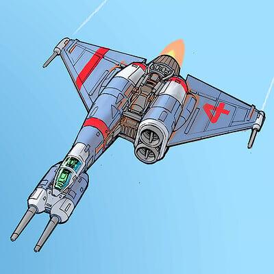 Space gooose starfighter 4 3 4 sm