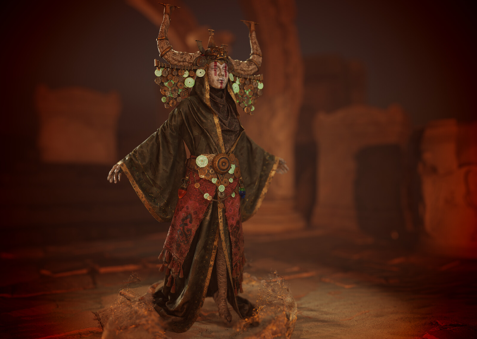 Demon in the Dunes (Realtime Character)